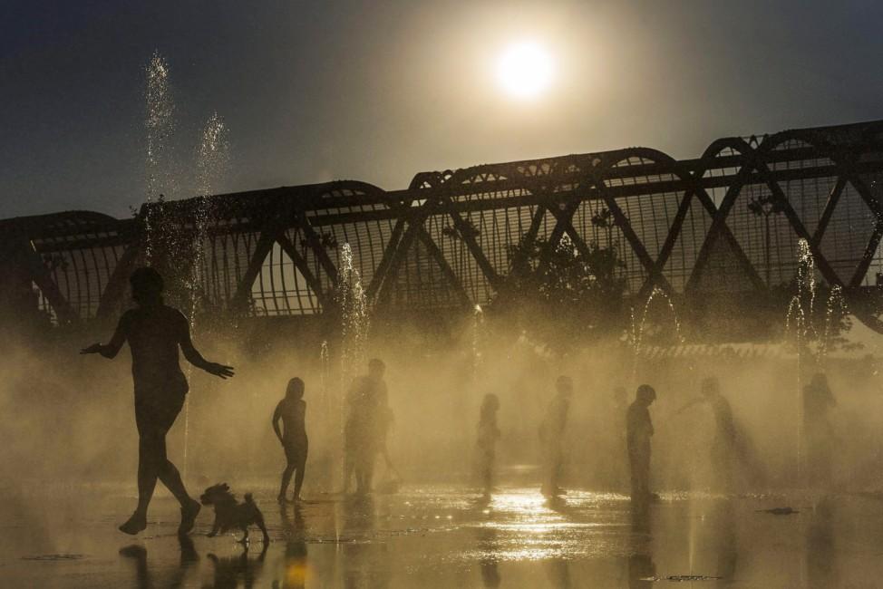 Heat wave in Madrid