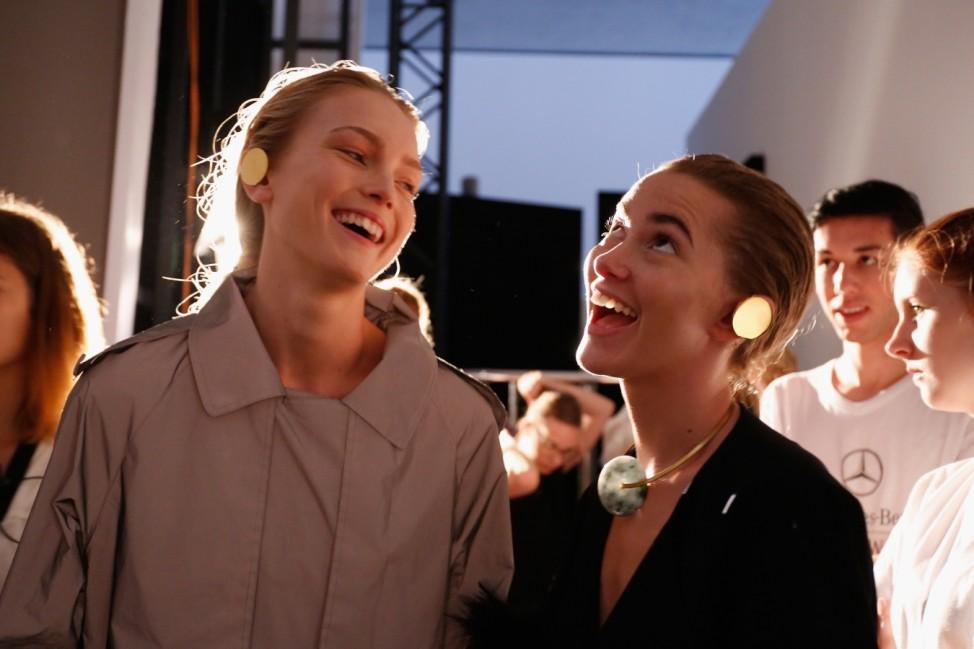 William Fan Backstage - Mercedes-Benz Fashion Week Berlin Spring/Summer 2016