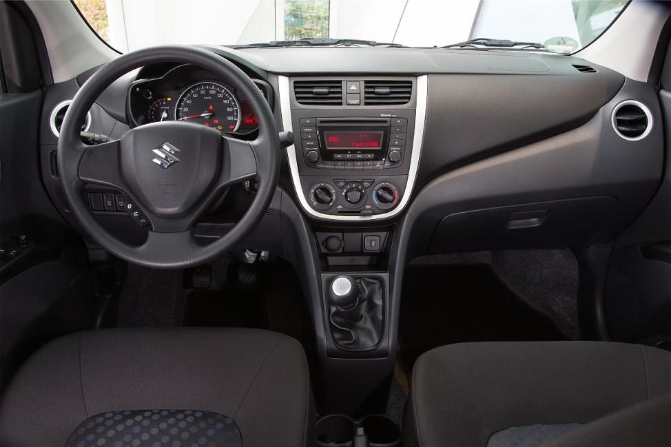 Der Innenraum des Suzuki Celerio.