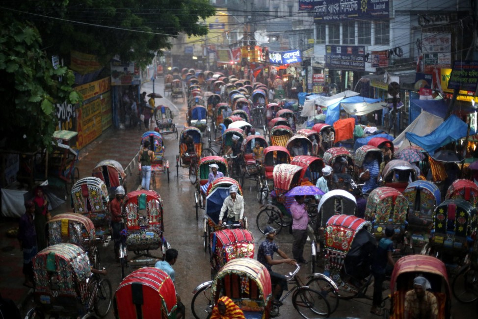 Bangladesh monsoon rains