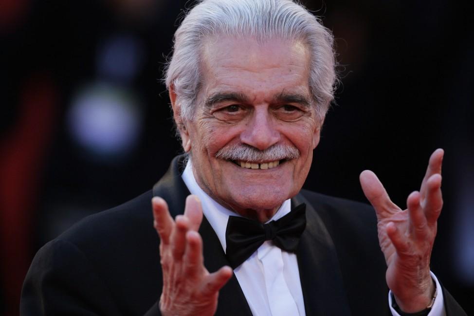 (FILE) Omar Sharif Dies At 83 Closing Ceremony Red Carpet - 66th Venice Film Festival