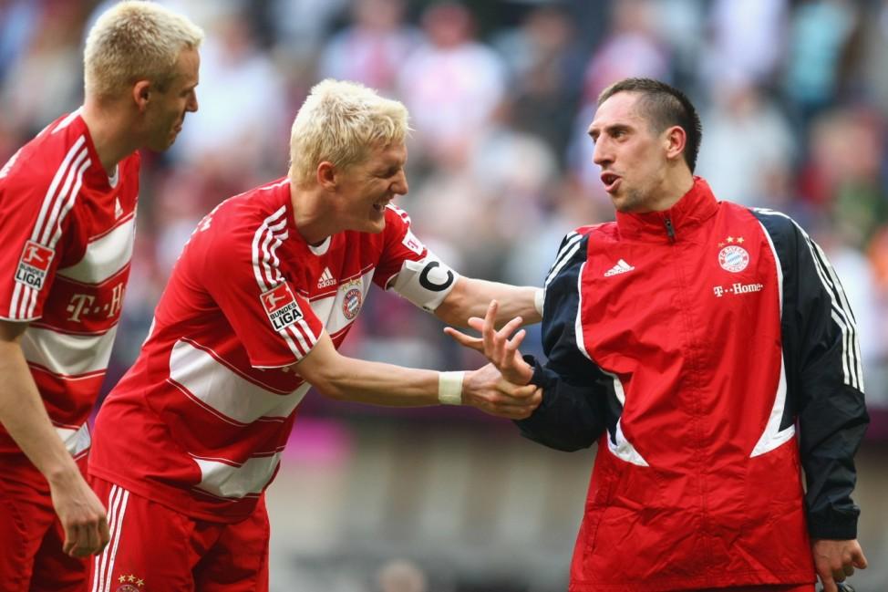 Bayern Munich v VfB Stuttgart - Bundesliga; schweinsteiger