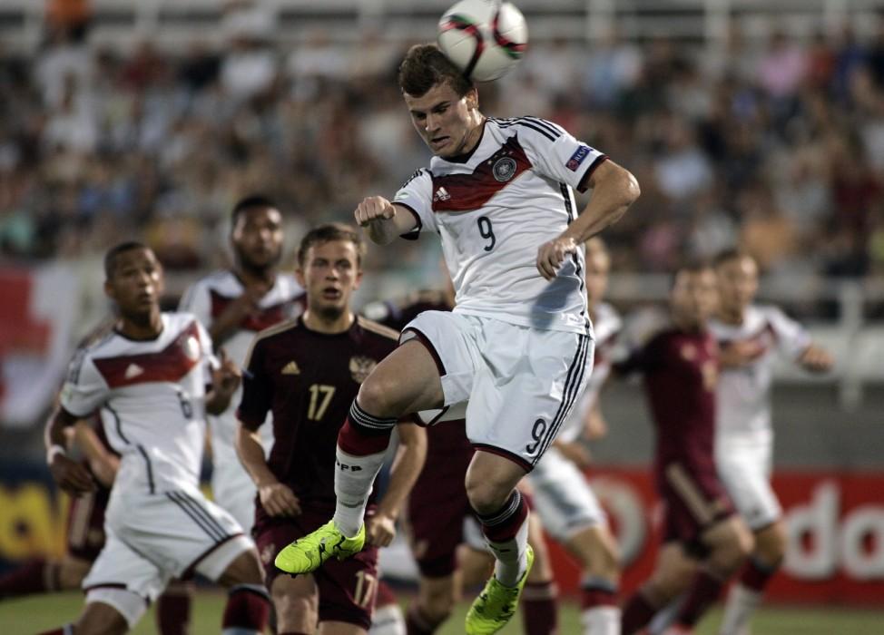 U19 Russia v U19 Germany - UEFA European Under-19 Championship