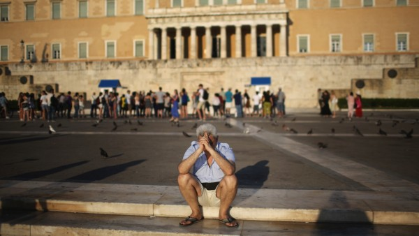 Greeks Demonstrate After Eurozone Debt Deal