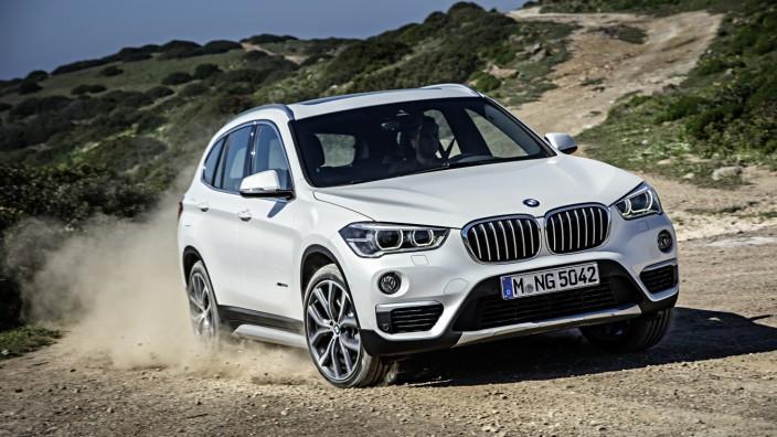 BMW X1 im Gelände