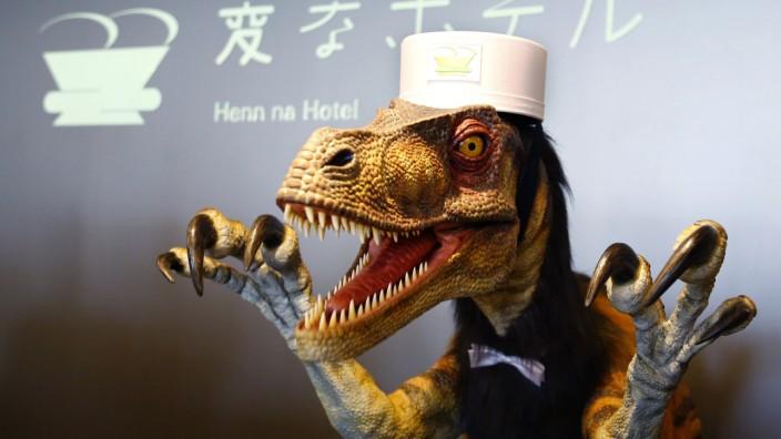Roboter-Hotel in Japan