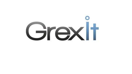 Grexit Logo mit Weißraum