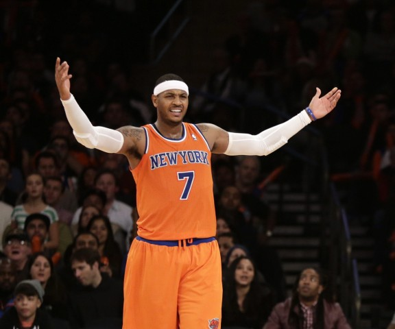 Atlanta Hawks at New York Knicks