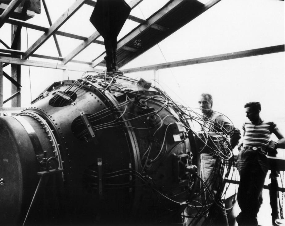 Fat Man, die erste Atombombe der Geschichte