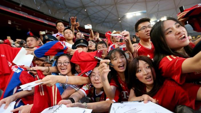 FC Bayern Audi China Summer Tour 2015 - Day 1
