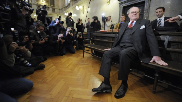 Trial of weapons lobbyist Alfons Mensdorff-Pouilly in Vienna