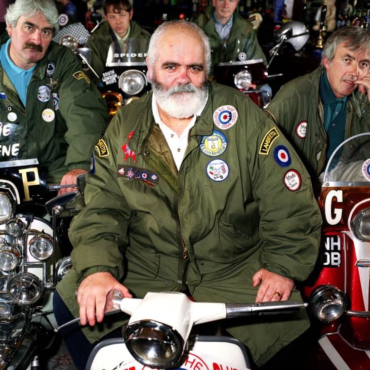 Biker vom Odd Mod Squad
