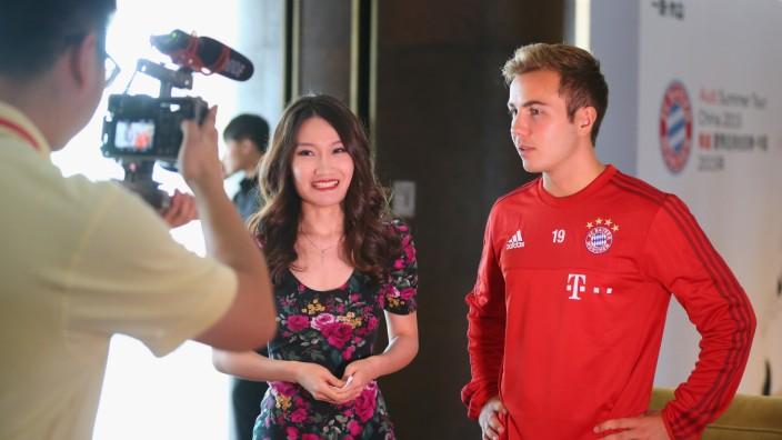 FC Bayern Audi China Summer Tour 2015 - Day 2