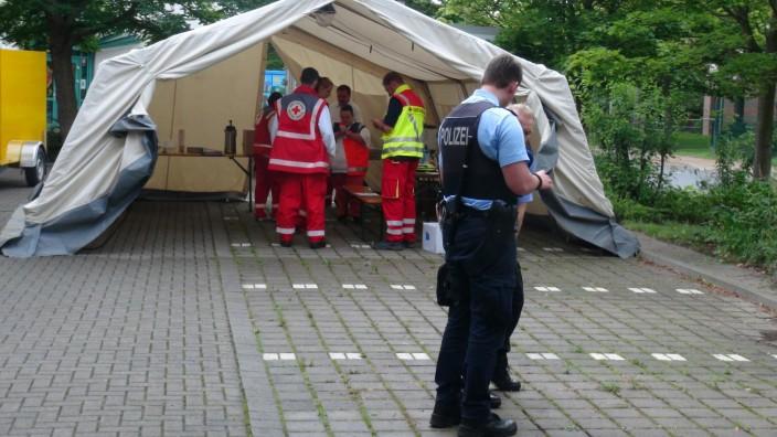 Angriff auf Flüchtlingsunterkunft in Halberstadt