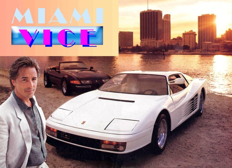 Die beiden Ferraris von Don Johnson in Miami Vice