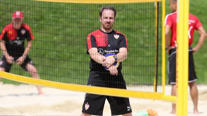 Mayrhofen Fußball VfB Stuttgart Trainingslager in Mayrhofen im Zillertal Trainer Alexander Zornige