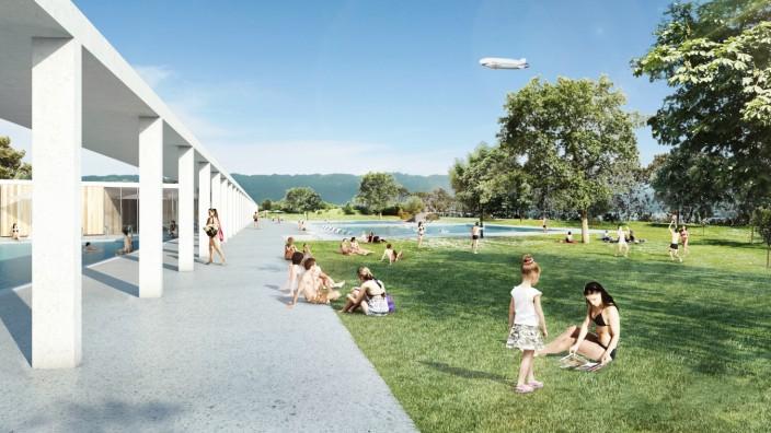 Frei- und Seebad Fischbach