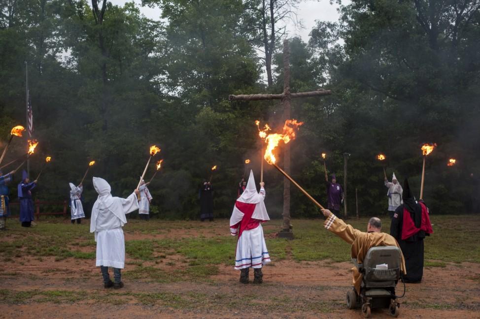 Wider Image: Inside The Ku Klux Klan