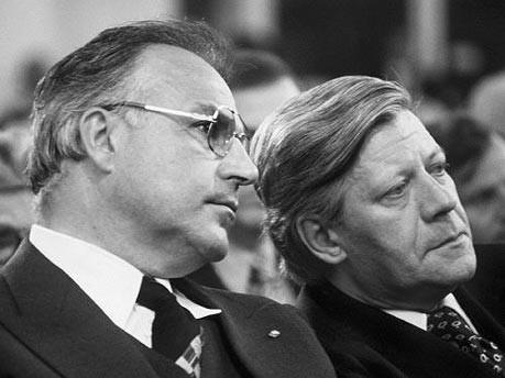 Helmut Kohl; Helmut Schmidt; dpa
