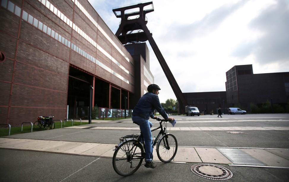 Fahrradfahren im Ruhrgebiet