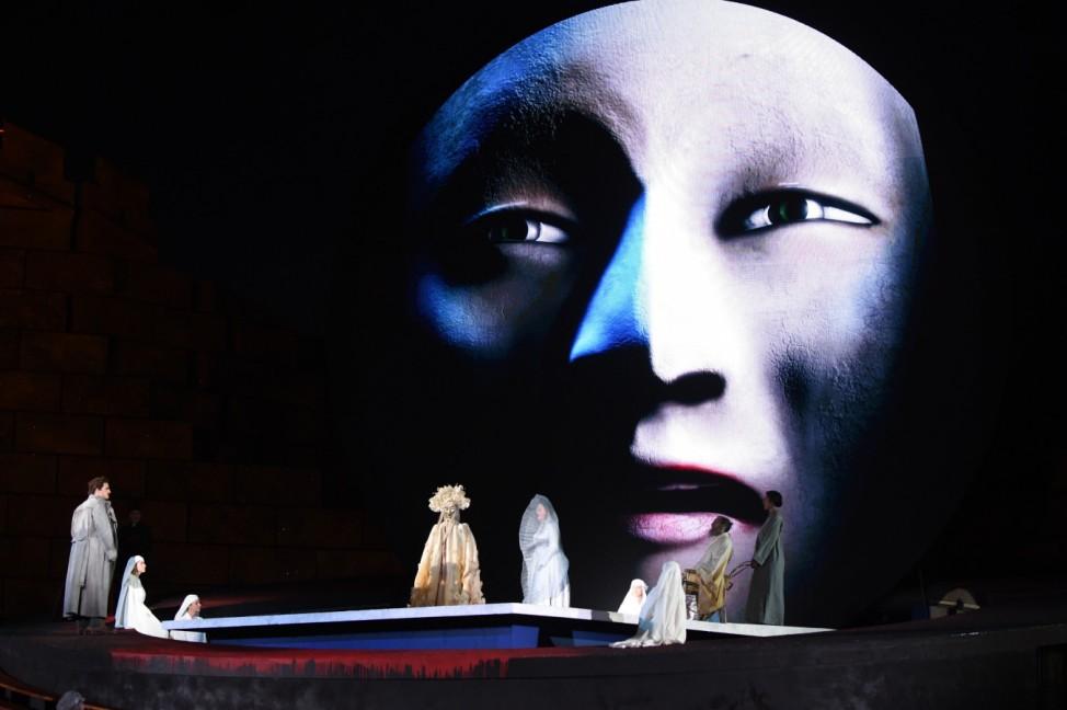 Bregenzer Festspiele - Turandot - Fotoprobe