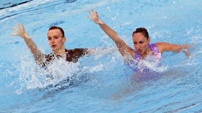 Synchronschwimmen-Mixed