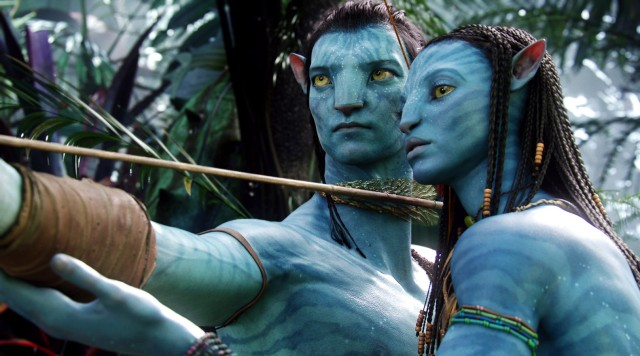 Publicity photo from the James Cameron film 'Avatar'