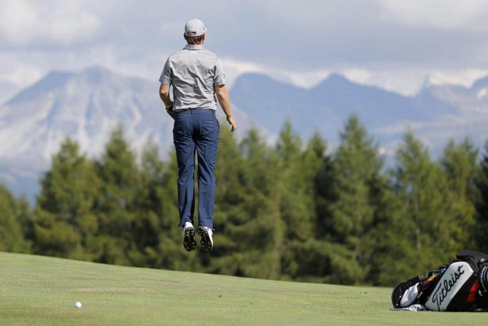 European Masters Golf Tournament in Crans-Montana
