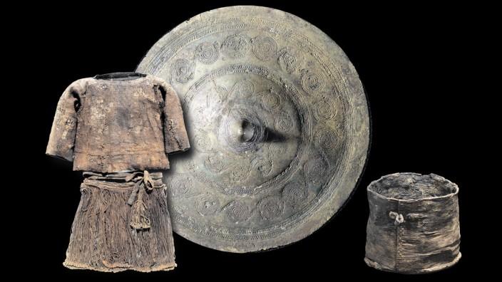 Archäologie: Die Grabbeigaben des Egtved-Mädchens sind gut erhalten.