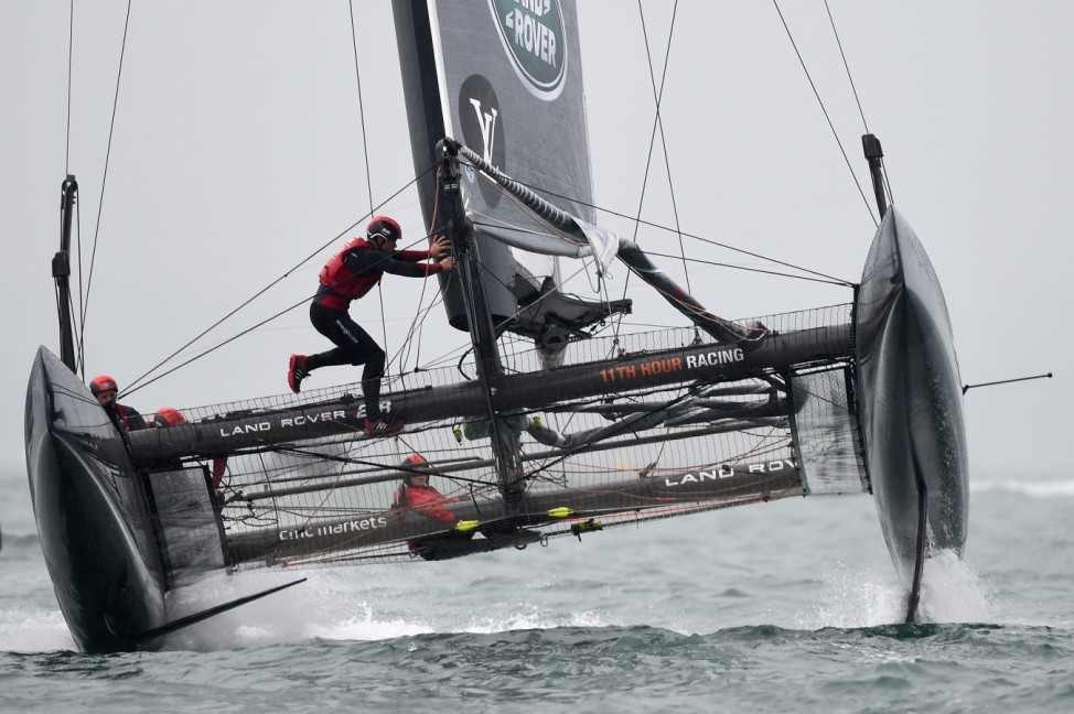 Louis Vuitton America's Cup World Series - Portsmouth: Day Two