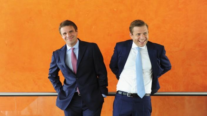 Montagsinterview: Alexander (l.) und Konstantin Sixt sind bei Uber als Kunden gesperrt. Sie betrachten ihren Dienst MyDriver als Marktführer der Taxi-Alternativen in Deutschland.
