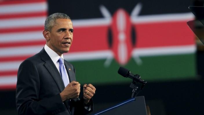 US Präsident Barack Obama Kenia Nairobi