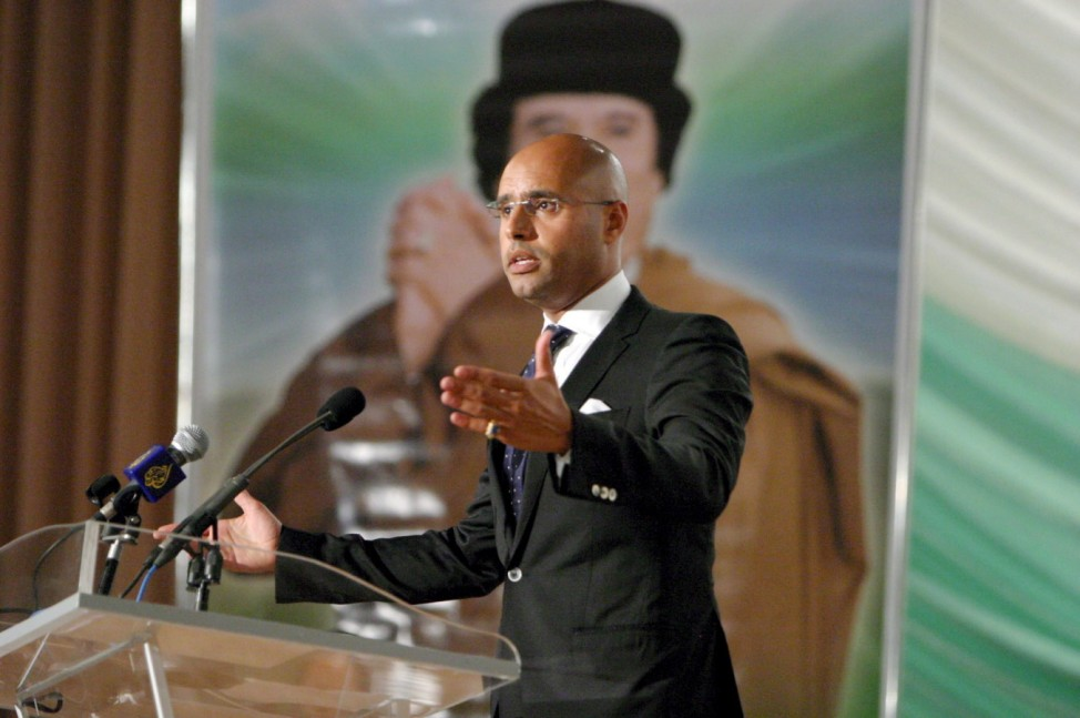 Gaddafi son trial resumes on charges of undermining state securit
