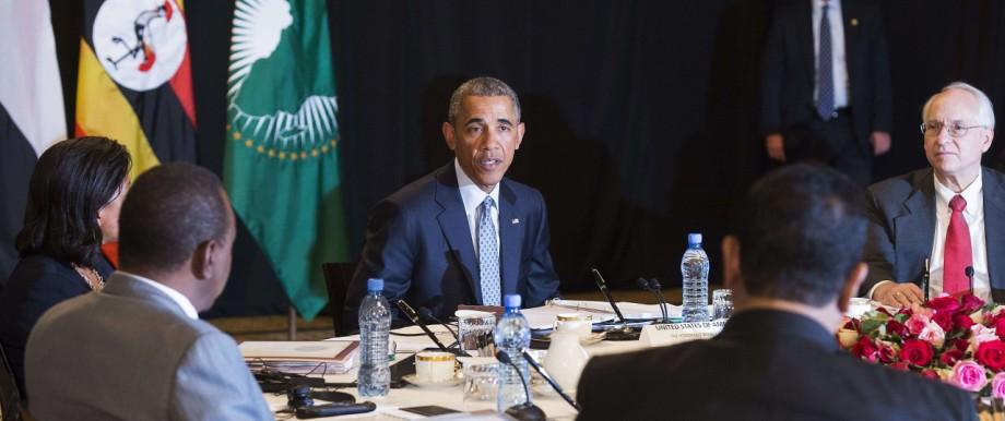US-Präsident in Äthiopien: Auf politisch schwierigem Gelände: US-Präsident Barack Obama in Addis Abeba