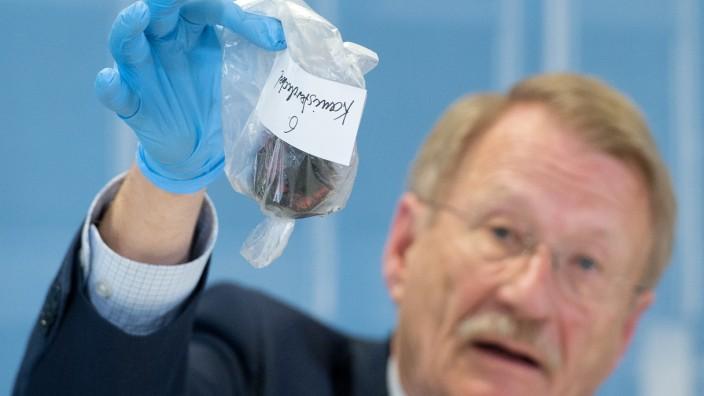 Wolfgang Drexler im  NSU Untersuchungsausschuss in Baden-Württemberg