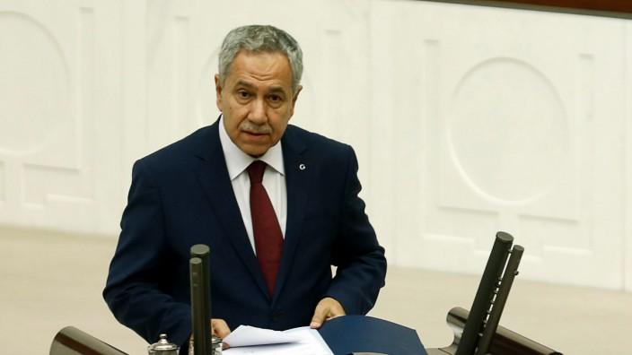 Türkischer Vize-Regierungschef Bülent Arınç