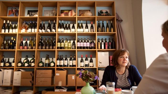 Weinbar in Sendling: Weinladen, Cafe Südhang