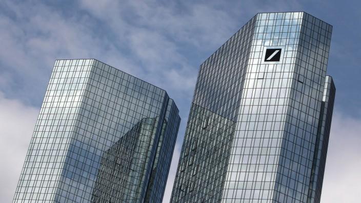 Jahresbilanz: Das Gebäude der Deutschen Bank in Frankfurt.