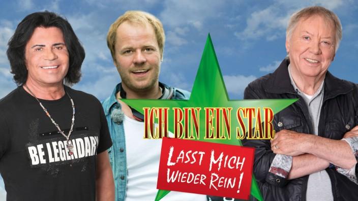 """Costa Cordalis, Dustin Semmelrogge, Werner Böhm; """"Ich bin ein Star - Lasst mich wieder rein!"""", RTL"""