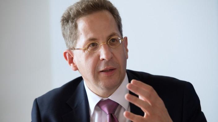 Hans-Georg Maaßen, Verfassungsschutz