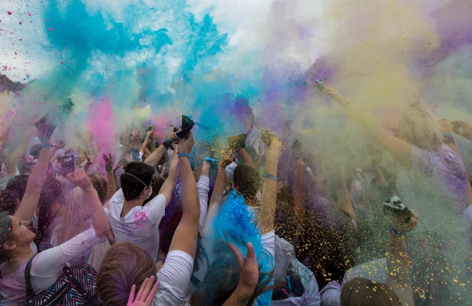 Holi-Festival in München
