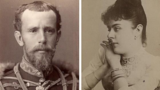 Tragödie von Mayerling 1889: Der österreichische Kronprinz Rudolf und seine Geliebte Mary Vetsera.
