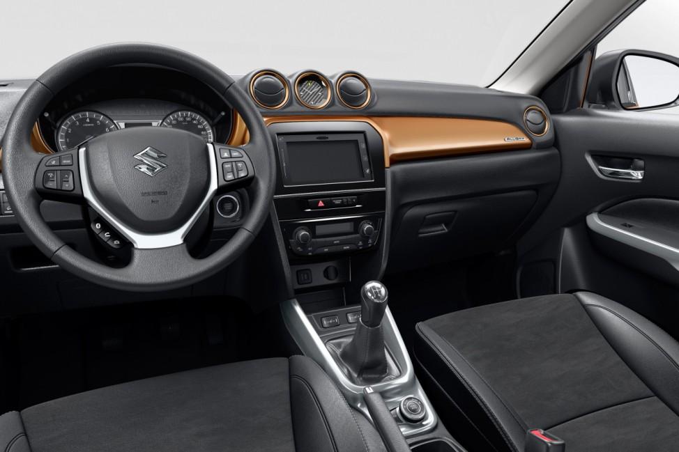 Der Innenraum des Suzuki Vitara