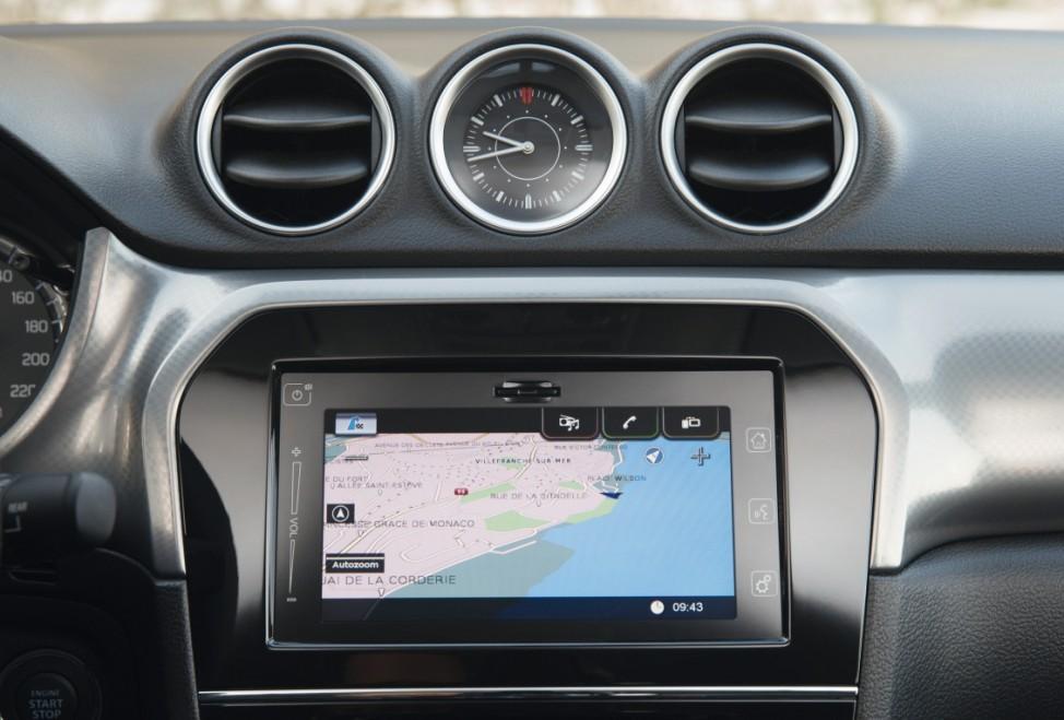 Der Touchscreen des Suzuki Vitara
