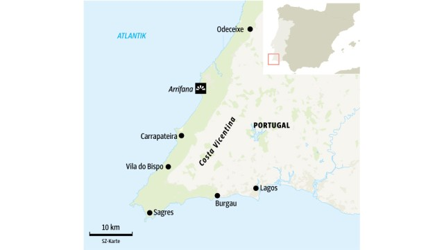 Portugal: SZ-Karte
