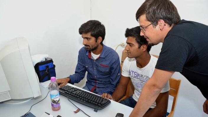 Internet für Asylbewerber