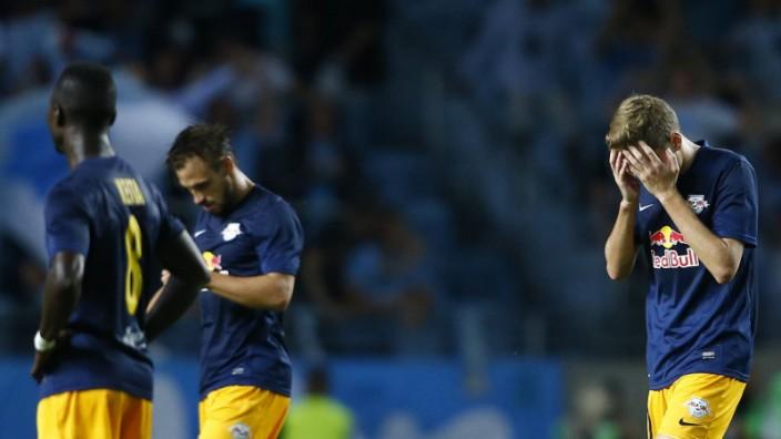 SOCCER CL quali Malmoe vs RBS MALMOE SWEDEN 05 AUG 15 UEFA Champions League qualification Mal