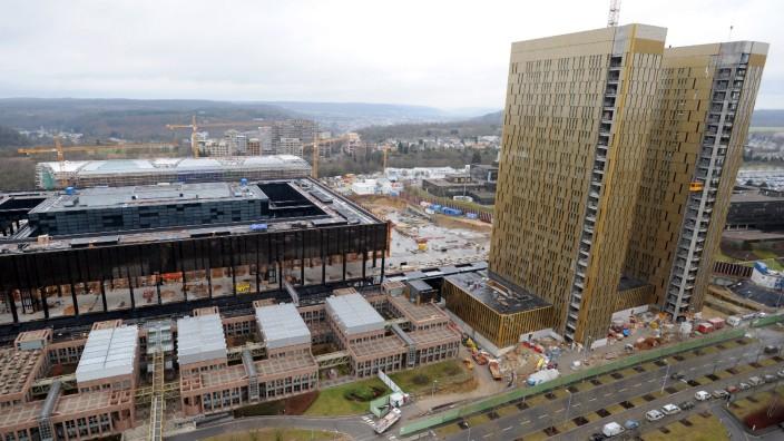 Baumaßnahmen Europäischer Gerichtshof in Luxemburg