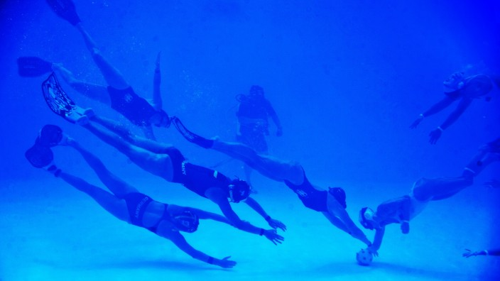 COLOMBIA-UNDERWATER RUGBY-WORLD-CHAMPIONSHIP