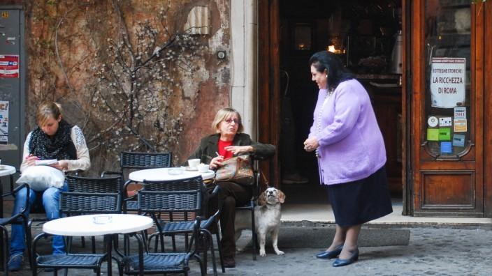 Cafe in Rom